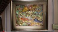 گزارش تصویری/«عرش بر زمین»؛ جدیدترین اثر اهدایی استاد فرشچیان در موزه آستان قدس رضوی رونمایی شد