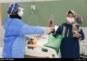 نقاهتگاه بیماران کرونایی در مرکز سلامت ایرانمال
