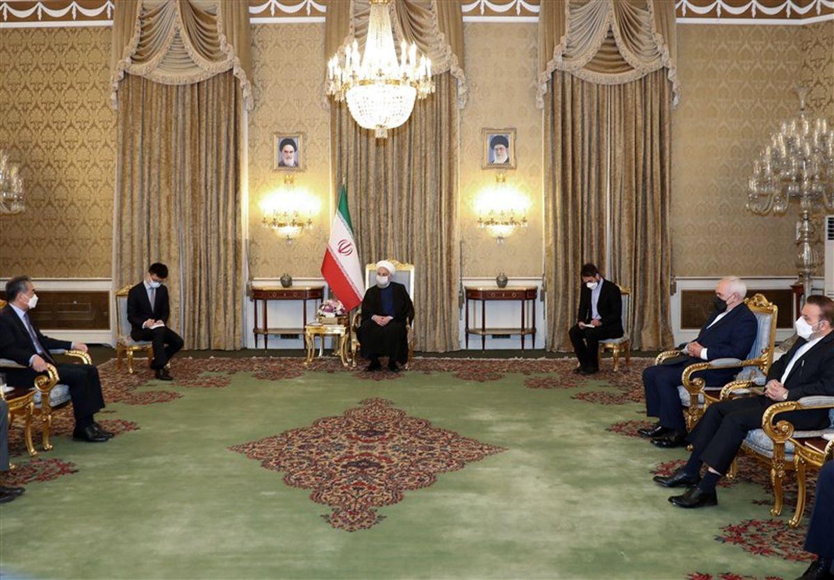 روحانی: سند 25 ساله چشمانداز روابط ایران و چین را روشن میکند