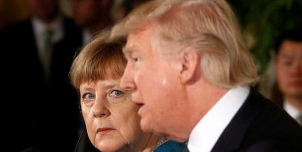 درخواست بزرگ ضد آمریکایی مرکل از اتحادیه اروپا