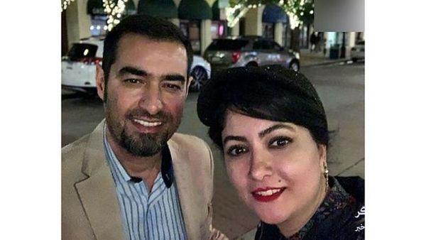 شهاب حسینی و ستاره تلویزیون در خیابان های آمریکا + عکس