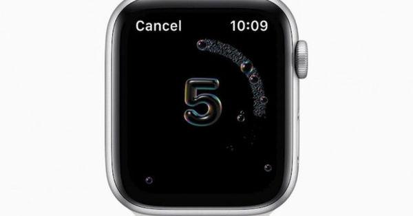 اپل واچ جدید بر شستن دست هایتان نظارت می کند