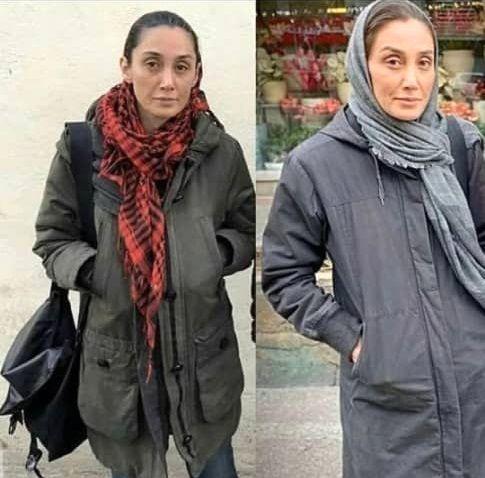 عکس : تغییر چهره عجیب هدیه تهرانی
