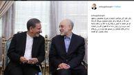 واکنش جهانگیری به توهین علیه رئیس سازمان انرژی اتمی در روز قدس + تصویر