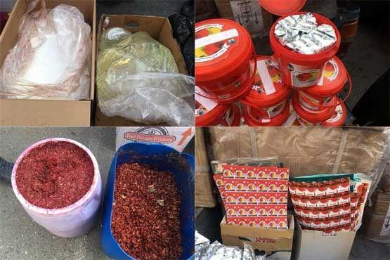 بستهبندی شیک تنباکوهای فاسد در جنوب تهران (+عکس)