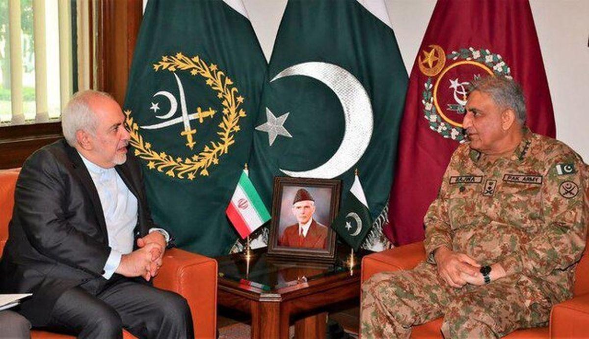 قول و قرار ظریف با فرمانده ارتش پاکستان