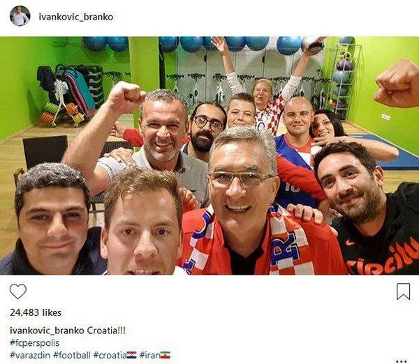 واکنش مختصر و مفید برانکو به صعود تیمملی کشورش به فینال جام جهانی!