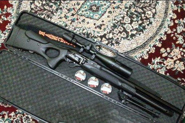 یک قبضه اسلحه شکاری تک لول غیر مجاز در پارک ملی توران کشف شد