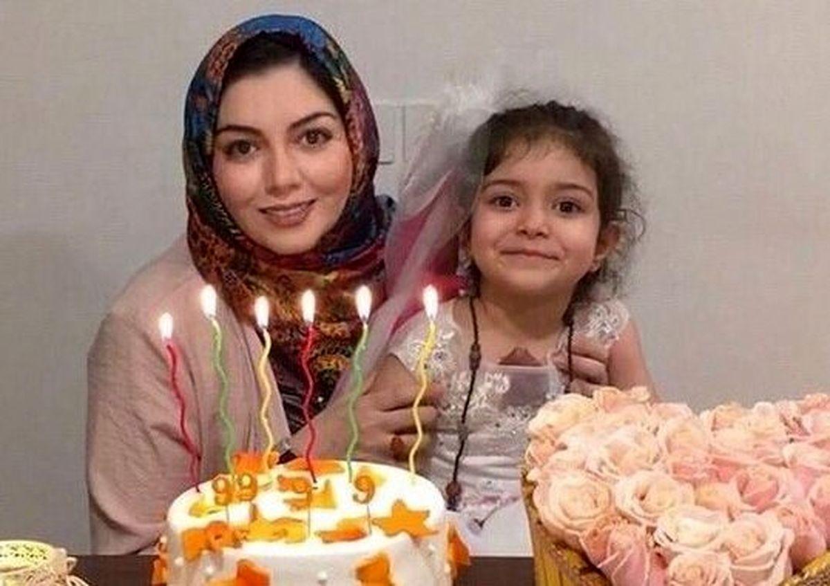 وضعیت همسر و دختر آزاده نامداری بعد از فوت او +عکس دختر آزاده نامداری