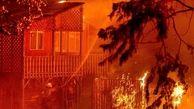 غرب آمریکا در آتش می سوزد +عکس