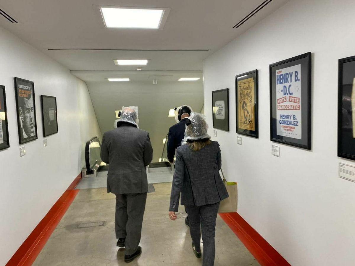 تصویری دیده نشده از فرار نمایندگان دموکرات