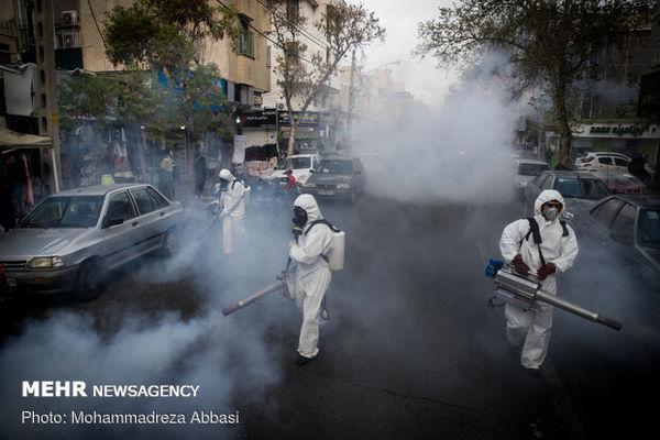 فردا این معابر شهری در تهران ضد عفونی می شود