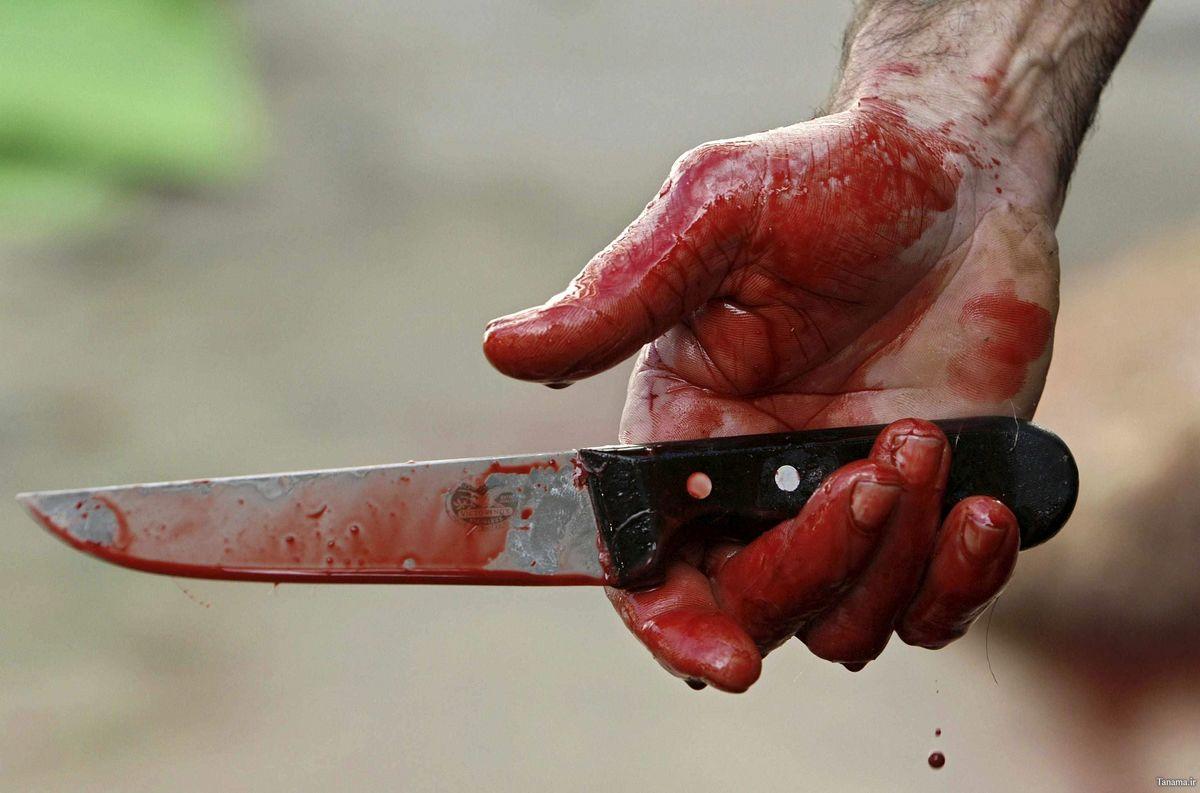 مردی که با چاقو وسط جاده گلوی همسرش را برید!