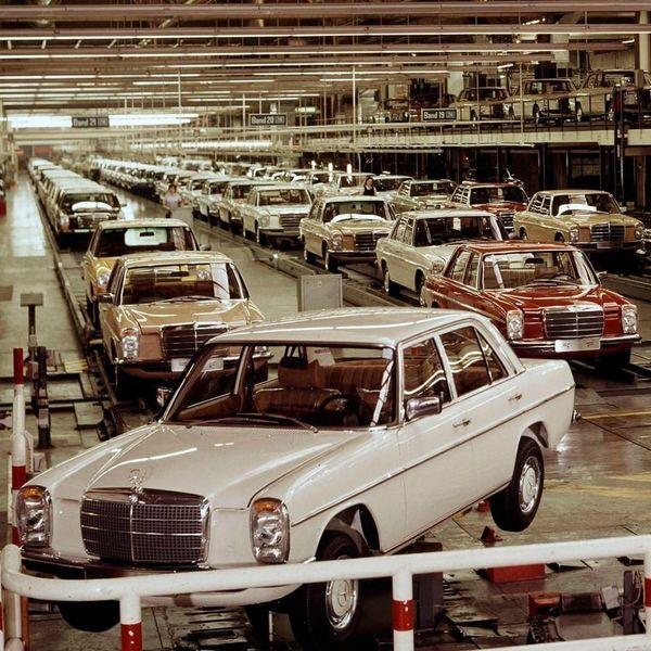عکس خودروی مرسدس بنز که ایرانی ها عاشقش بودند