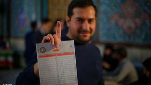 گزارش تصویری انتخابات مجلس؛ حسینیه ارشاد