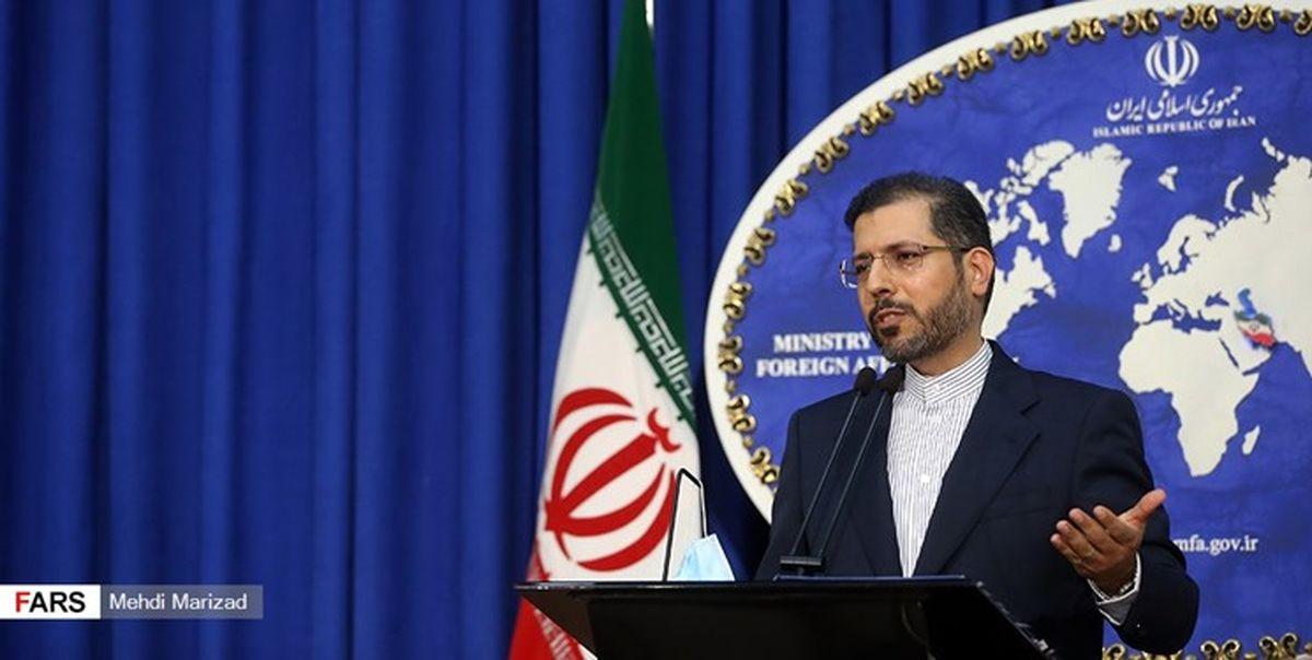 خطیب زاده: هر کس در کاخ سفید باشد راهی جز احترام به حقوق ملت ایران ندارد