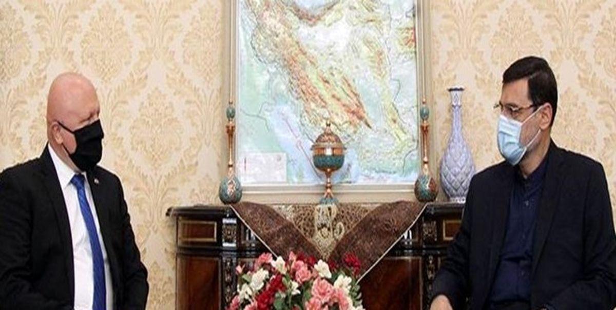 سفیر اسلواکی با نایب رئیس مجلس دیدار کرد