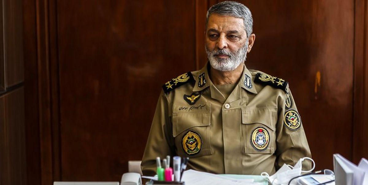 درخواست مالی فرمانده ارتش از مجلس و دولت