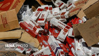 کشف ۶۳۰ هزار نخ سیگار قاچاق