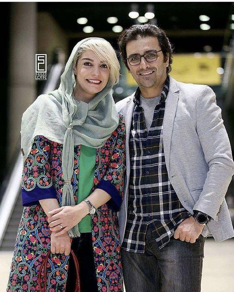 استایل خفن الیکا عبدالرزاقی در کنار همسرش + عکس
