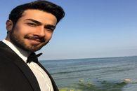 حسین مهری از فرزندش رونمایی کرد +تصاویر دونفره حسین مهری