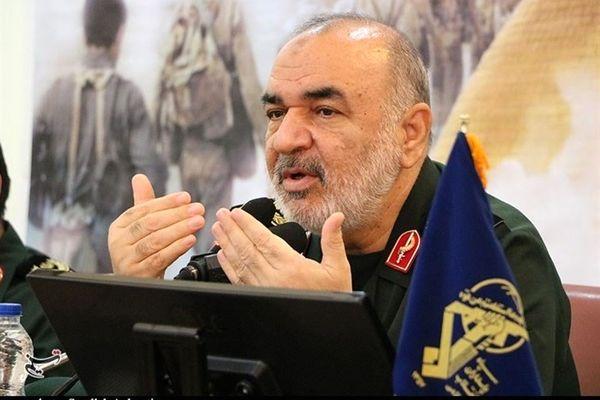 اتمام حجت فرمانده کل سپاه : آتش اصلی نیروهای مسلح ایران را در دریا و آسمان خواهید دید