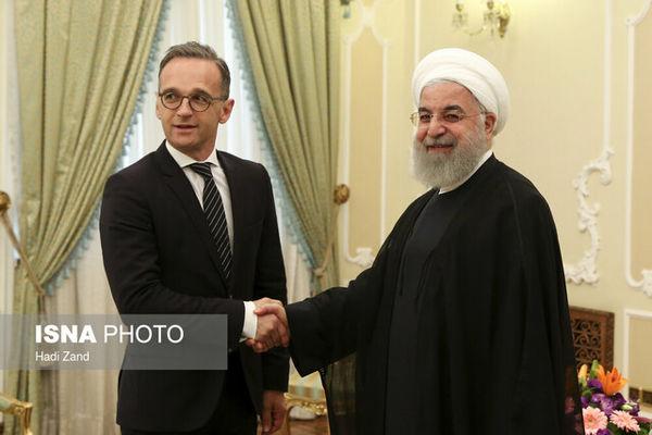 دیدار وزیر امور خارجه آلمان با روحانی