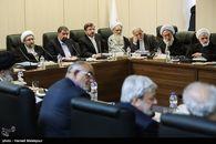8 عضو مجمع و روحانی، لاریجانی، احمدینژاد در جلسه بررسی «پالرمو» غایب بودند+ عکس