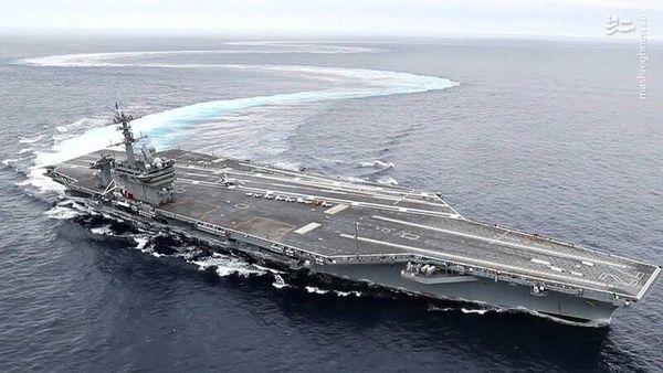 آیا واقعا این ناوهواپیما بر و بمب افکنهای آمریکایی برای جنگ با ایران آمده اند؟ + جزییات
