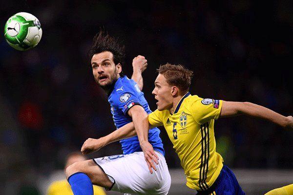 شوک بزرگ به فوتبال جهان/بوفون رفت/  ایتالیا حضور در جام جهانی را از دست داد