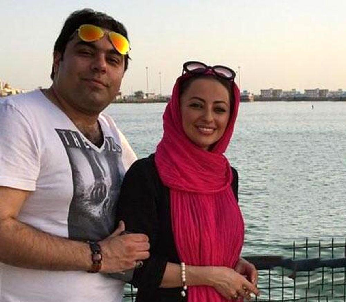 نفیسه روشن برای بار دوم ازدواج کرد! +عکس همسرش
