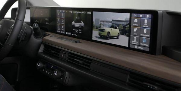 داشبورد سوپر دیجیتال هوندا برای خودروهای برقی جدیدش