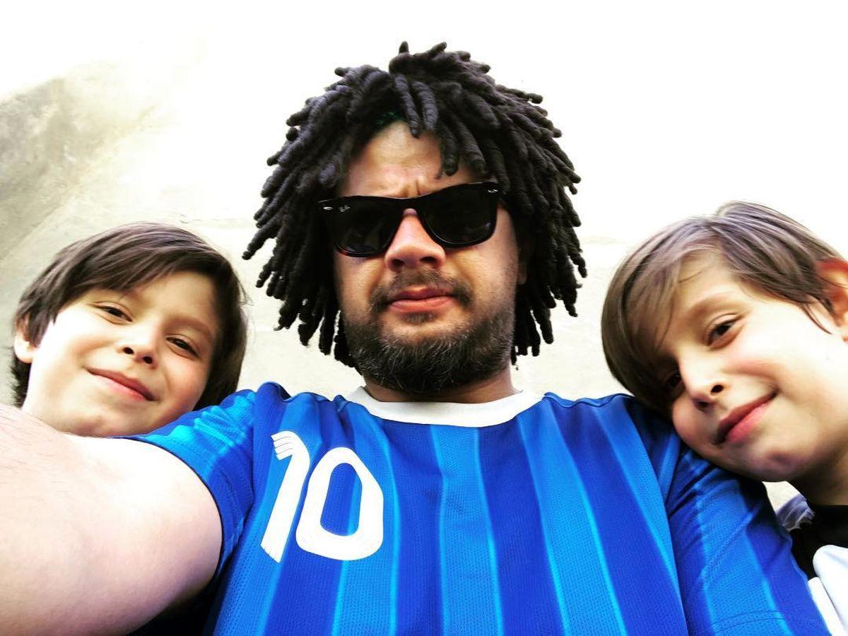 علی صادقی از همسر و فرزندش رونمایی کرد +تصاویر خانوادگی