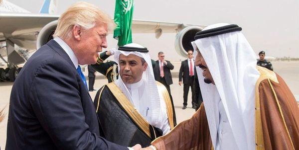 سخنان جنجالی ترامپ:به سلمان گفتم اگر ما نباشیم، ایران ۲ هفتهای عربستان را میگیرد