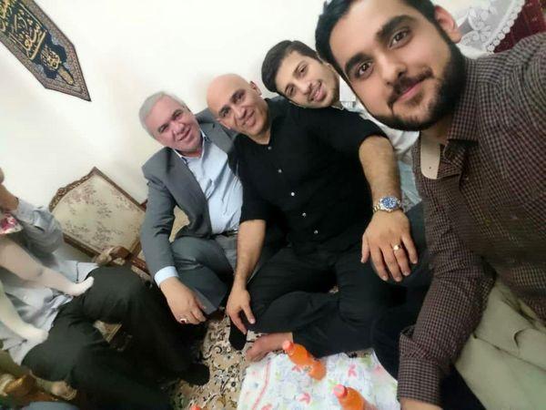 آشتی فتح الله زاده و منصوریان + عکس