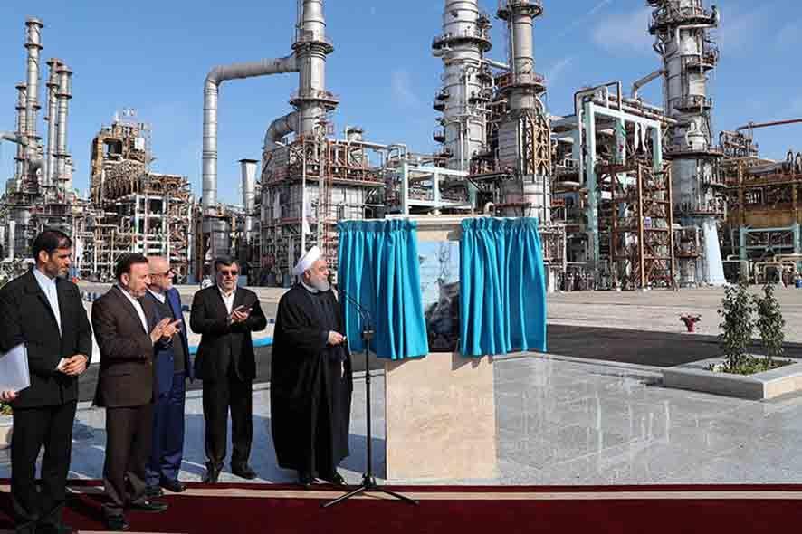 گزارش تصویری: بهره برداری از فاز سوم پالایشگاه میعانات گازی ستاره خلیج فارس