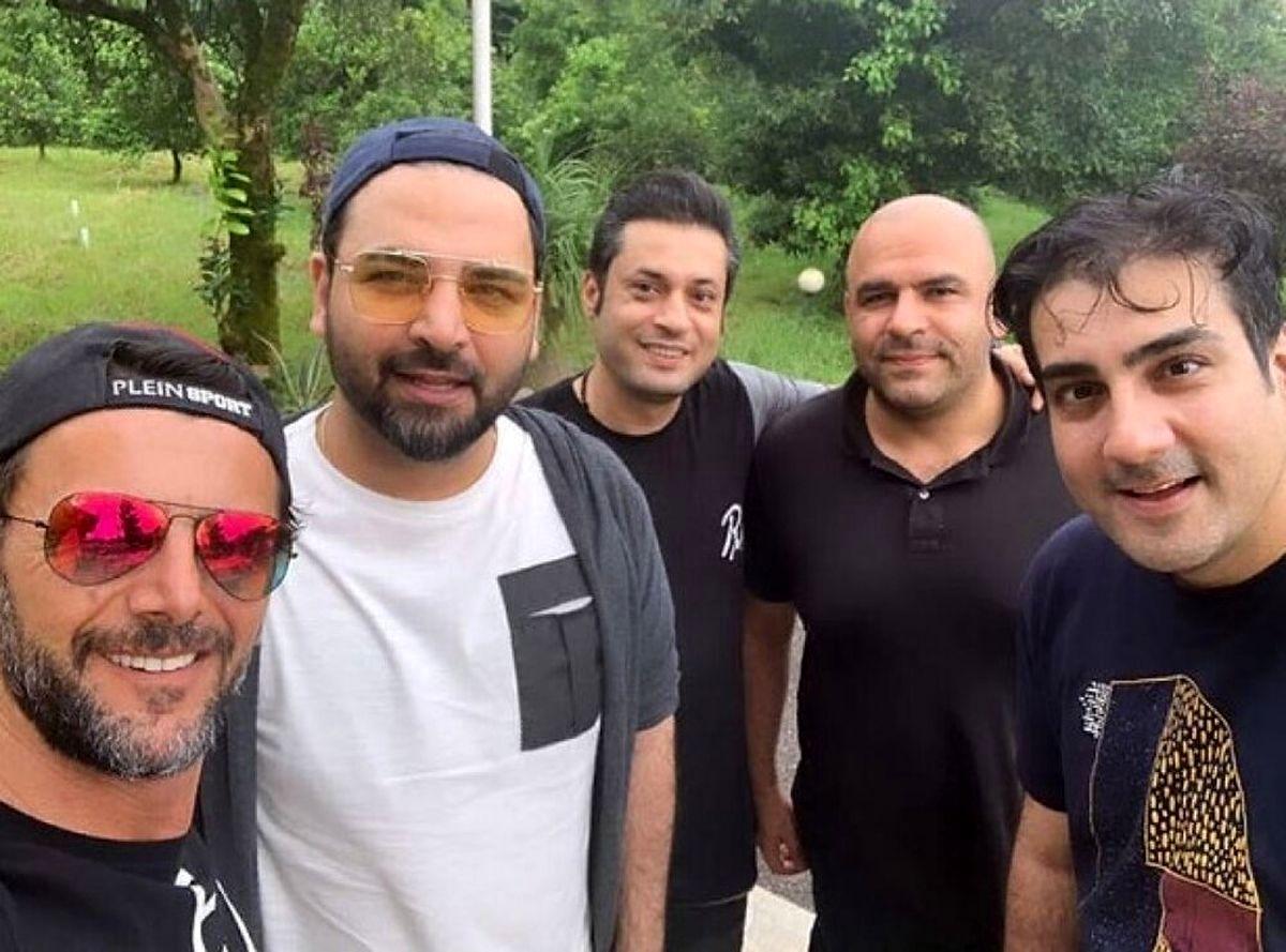 شاسی بلند میلیاردی احسان علیخانی و تصاویر ناب از احسان