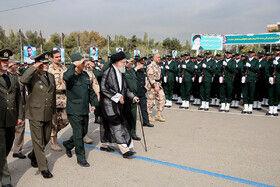 دانشگاه افسری امام حسین (ع) با حضور مقام معظم رهبری + گزارش تصویری