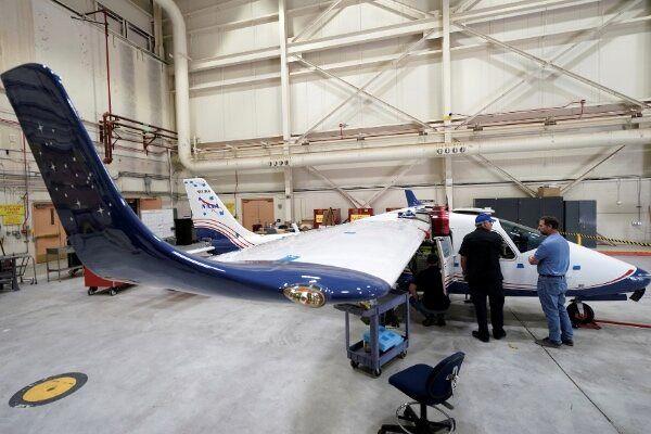 هواپیمای برقی ناسا  با 14 موتور پرواز می کند + تصاویر