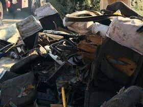 افزایش قربانیان حادثه اتوبوس دانشگاه به 9 نفر