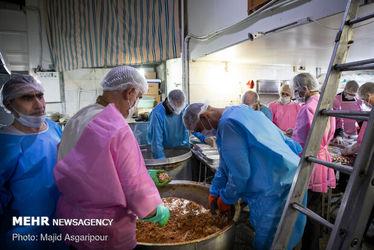 غذای متبرک رضوی برای بیماران کرونایی