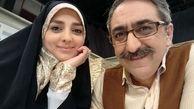 واکنش مجری معروف به اختلاف سنی 14 ساله با همسرش +تصاویر دونفره