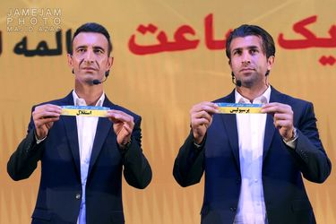 مراسم قرعه کشی فوتبال لیگ برتر جام خلیج فارس