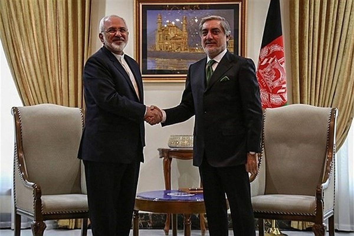 دیدار «ظریف» و «عبدالله عبدالله» فردا در تهران