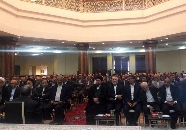 دیدار مقامات ارشد وزارت خارجه با سید حسن خمینی