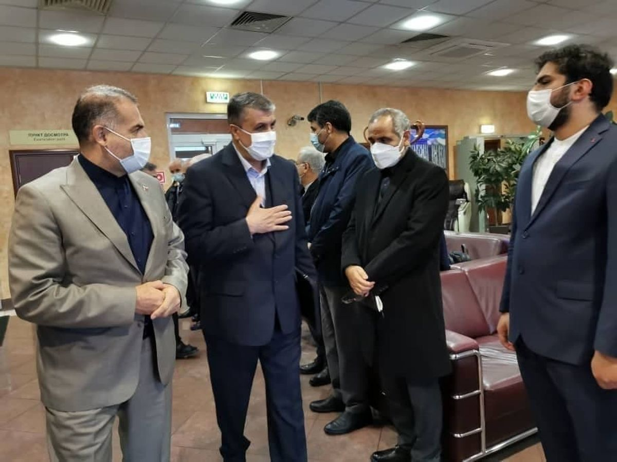 رئیس سازمان انرژی اتمی ایران وارد مسکو شد