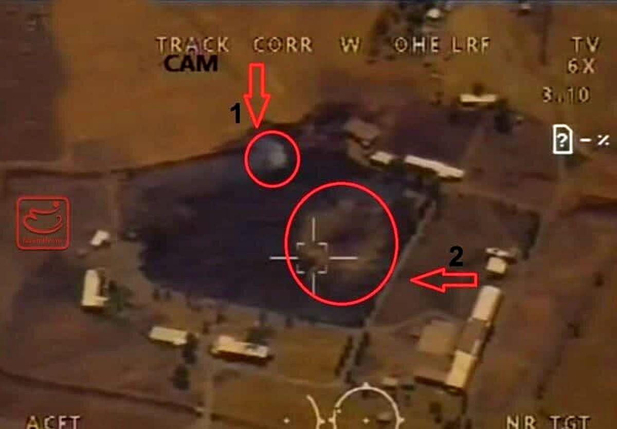 حمله با ۷ موشک به مقر تروریستها در کردستان عراق