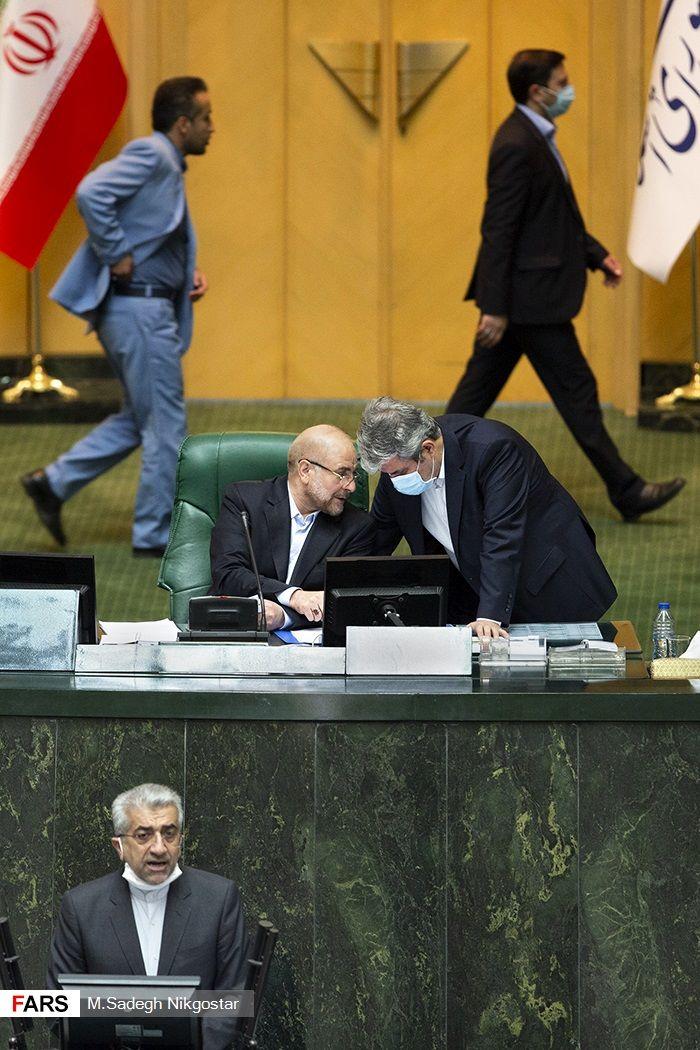 گزارش تصاویری؛جلسه علنی مجلس / ۲۱ خرداد ۹۹