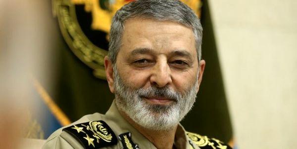 پیام تبریک فرمانده کل ارتش به محمدباقر قالیباف به عنوان رئیس مجلس