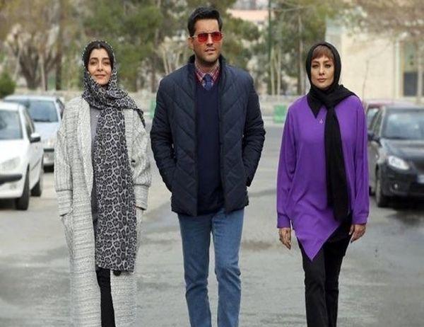 عکس جدید حامد بهداد در سریال دل